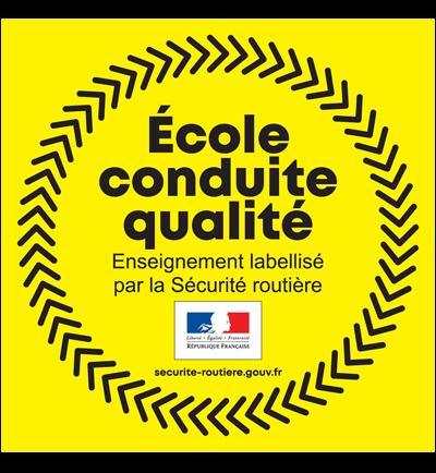Label Ecole de conduite de qualité